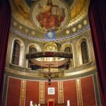 Interior catedral altar