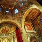 Interior catedral cupula